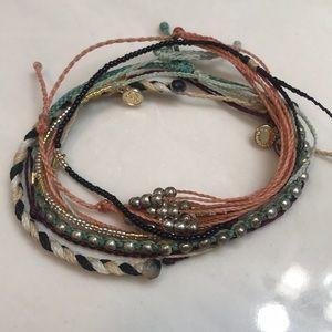 Pura Vida bracelets lot. 7 total.